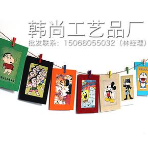 【开心赚宝】  DIY悬挂式纸质相册纸相框6寸照片墙 创意相框7枚