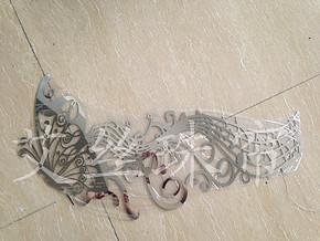 音符蝴蝶贴墙装饰 蝴蝶珠帘 金属珠帘 门帘隔断 个性装饰帘