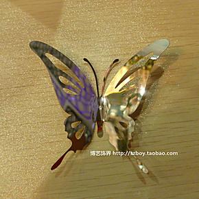 新款蝴蝶珠帘 创意个性蝴蝶珠帘 金属材质珠帘 不锈钢珠帘