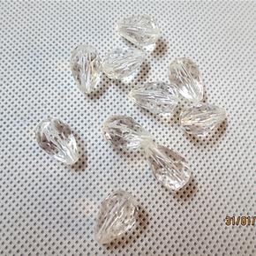 扬帆珠饰/亚克力水晶珠子服饰品diy材料压克力吊坠角珠 珠帘珠