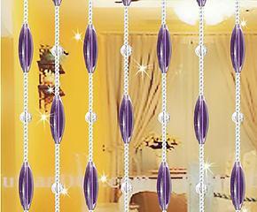 橄榄珠水晶珠帘 创意水晶帘玄关隔断室内装饰客厅装修窗帘门帘