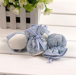 精品田园风格*精致环保棉质 带防滑 桌脚套、椅脚垫4个装