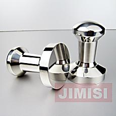 意式咖啡机配套器具无磁 不锈钢压粉器 填压器 压棒 粉锤57MM