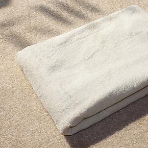 真丝浴巾毯 双面毛圈100%桑蚕丝 70*140 真丝毛巾毯 真丝抱毯