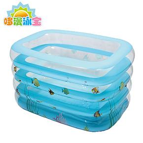 正品充气婴儿游泳池婴幼儿沐浴盆宝宝洗澡桶新生儿浴缸大号小号