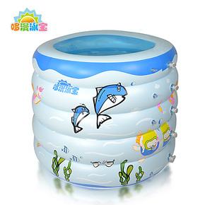 特价婴儿游泳池 宝宝充气浴缸 新生儿洗澡桶 儿童游戏池 圆形小号