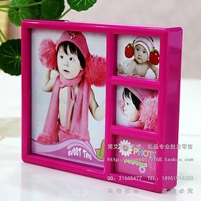 特价影楼批发全家福儿童宝宝相框/7寸组合相框照片墙生日礼品礼物