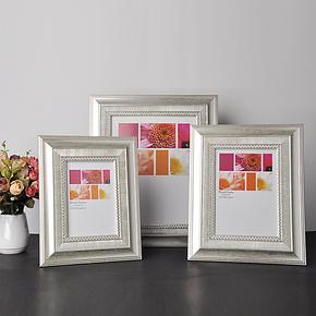 宝宝影楼家庭相框 6寸7寸10寸创意塑胶相框 可爱儿童相架照片墙