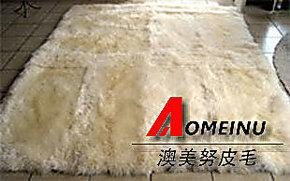 澳洲羊皮 羊毛地毯坐垫 沙发垫 羊毛毯 挂毯 居家装饰纯羊毛