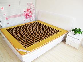 迪一玉阁玉石锗石托玛琳双温双控远红外双人磁疗电加热保健床垫