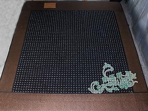 加热磁疗锗石床垫 玉石床垫 托玛琳保健床垫双温双控磁石健康床垫