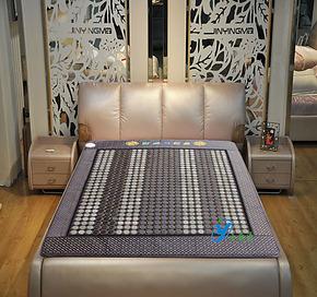 玉石床垫双温双控 玉石床垫正品 玉石床垫岫岩玉加热床垫磁疗床垫