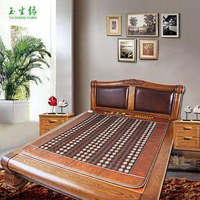 促销玉生缘正品玉石锗石床垫双温双控加热床垫床垫托玛琳床垫