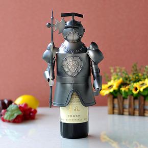 创意铁艺红酒架葡萄酒架酒瓶酒具套装酒柜装饰品摆件家居新房摆设