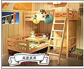 厂价子母床双层实木儿童床子母床上下床高架床宜家高低床护栏床