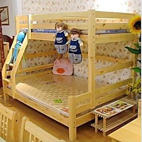 特价实木儿童床上下床实木双层床子母床高低床宜家儿童床
