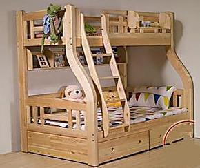 鑫瑞家居/实木 儿童床 双层床 上下床 高低床 实木双层床 子母床