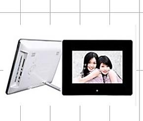 数码电子相框70E 7寸 镜面多功能电子相框 电子相册 锂电池