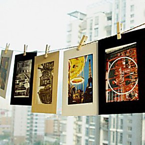 复古照片墙简易照片墙照片墙创意相框画框宝宝照片墙贴照片框挂墙