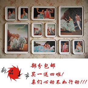 钜祥 厂家直销7款组合创意照片墙制作 结婚礼物 装饰框 艺术照