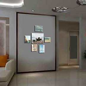 艺美尚品 高档水晶组合6框照片墙亚克力DIY无框相框墙相片墙