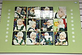 新款创意水晶相框12组合照片墙相框婚纱摆台宝宝摆台制作特价