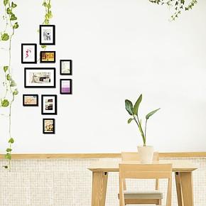 景宇照片墙9框创意组合竖形相片墙楼梯楼道玄关相框墙
