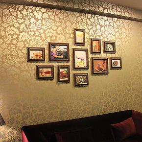 包邮特价   欧式客厅沙发背景 相框创意组合 照片墙组合 相片墙