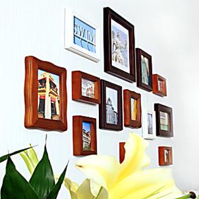百特好照片墙相框墙组合创意奢爱S款SH-1301欧式实木