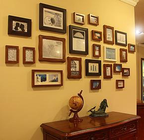 五折包邮 百特好23框  照片墙创意组合相片墙 欧式背景墙相框墙