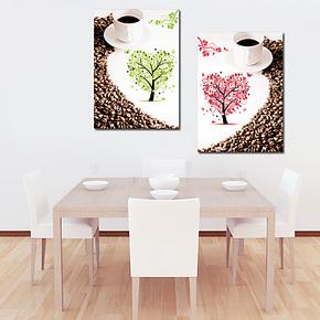 现代客厅卧室餐厅挂画 家庭装饰画墙画 无框画壁画墙贴油画包邮