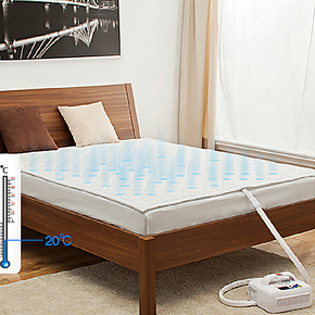 看今朝 安全保健 助眠空调床垫 升级版水暖电热毯 冷暖两用套装
