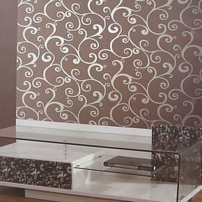 艾亿 简欧风格咖啡色砂岩墙纸 家装卧室客厅吧台咖啡馆装修壁纸
