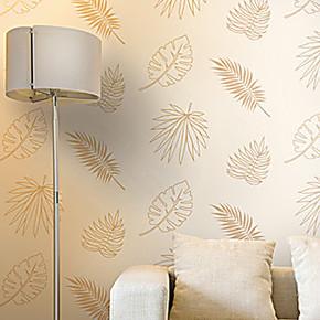 伯爵壁纸 伯爵世家3 客厅卧室墙纸 现代简约 树叶壁纸CC551101