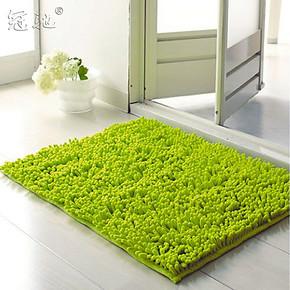 冠驰 雪尼尔地毯门垫 室内吸水浴室防滑地垫 卧室地垫 特价地毯