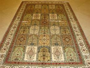 世界著名手工波斯真丝地毯,真丝挂毯.壁毯