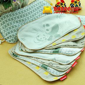 Besee百岁 竹纤维苎麻婴儿凉枕宝宝枕头专用枕套 比纯棉全棉的好