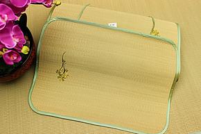 佳禾凉席 夏凉草席单人兰草蔺草枕套/枕片/枕头席/海绵草学生枕席
