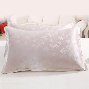 古素 双面桑蚕丝 真丝枕套/枕巾 丝绸 美容抗皱枕头套 100%桑蚕丝