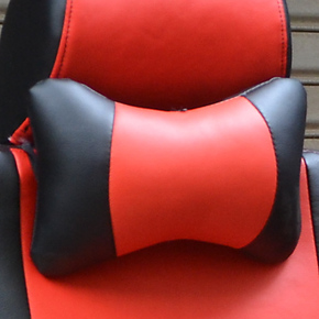 一对座套配套头枕专用仿真皮PU汽车车用枕头颈枕四季多个颜色可选