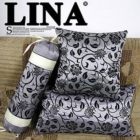 仿绸缎抱枕 靠垫 靠枕 糖果枕套 睡觉枕头靠背 飘窗靠包床头枕套
