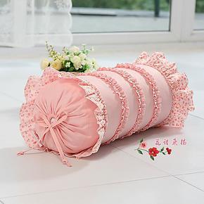 可爱淑女大号两用长抱枕套芯床头靠垫靠枕 结婚礼品糖果枕头 相印