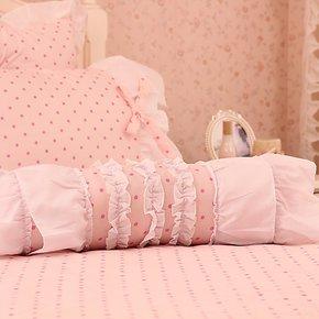 HRHM旗舰店 粉色初恋 配套糖果枕 含芯 枕头 糖果枕被