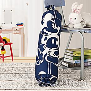 正版迪士尼床品套件卡通糖果纯棉抱枕大号长圆枕头 护颈椎靠垫