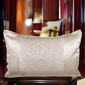 真丝枕套100%桑蚕丝床品丝质枕套抱枕套不含芯真丝枕套100桑蚕丝