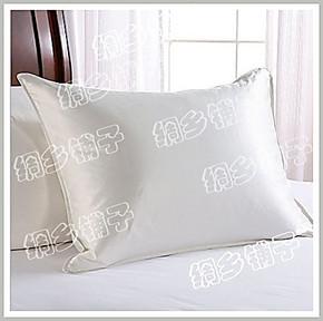 真丝床品 真丝枕套 100%桑蚕丝 双面加厚正品 25姆米重磅米袋枕套