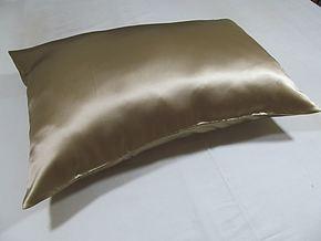 顶级100%重磅加厚真丝枕套 超华丽绸缎真丝 两只包邮