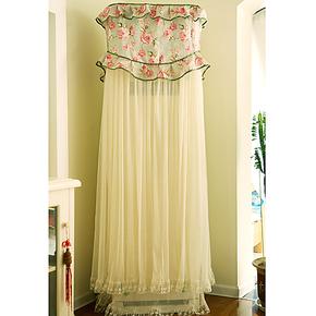 枫曼 空调罩布艺柜机罩 花之语系列 立式柜式防尘罩 3匹加大定制