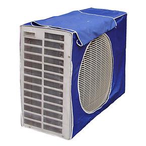 开启免拿式空调机外罩、室外空调防尘罩空调外机罩 挂机罩套批发