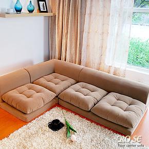 日式风格懒人沙发榻榻米人气组合沙发多色简约韩式沙发包邮中